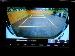 安心のバックカメラ搭載!運転に不安がある方も安心です。