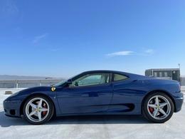 フェラーリ 360モデナ 3.6 ブルーツールドフランス/カラードダッシュ