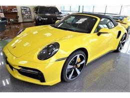 ポルシェ 911カブリオレ ターボS PDK 2021モデル OP218 登録済未使用 3年メンテP