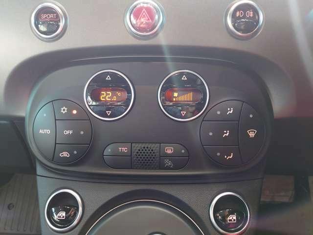 フルオートエアコン。ボタン式で操作も簡単。