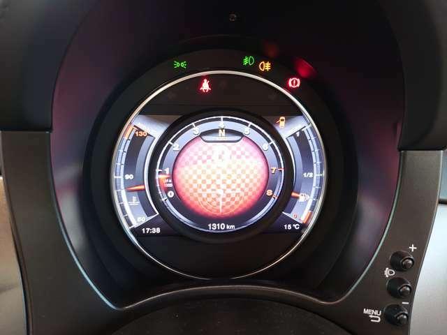 7インチTFTアバルトレーシンググラフィック。あなたのパフォーマンスをさらに制御。