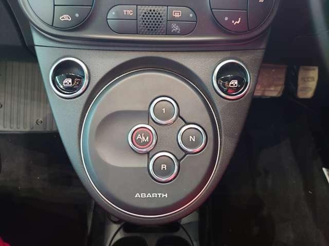 ATモード付で、手動・自動の切り替え可能な5速シーケンシャルトランスミッション。