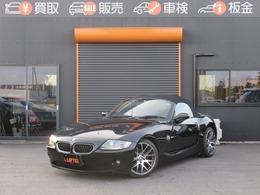 BMW Z4 ロードスター2.5i 社外18AW 黒革 シートヒーター HID
