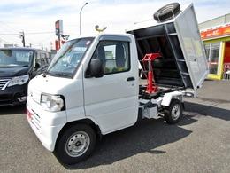 三菱 ミニキャブトラック 660 Vタイプ 4WD PTO式深底清掃ダンプ 5MT ETC付き