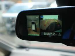 アラウンドビューモニター搭載で駐車時も安心ですね。