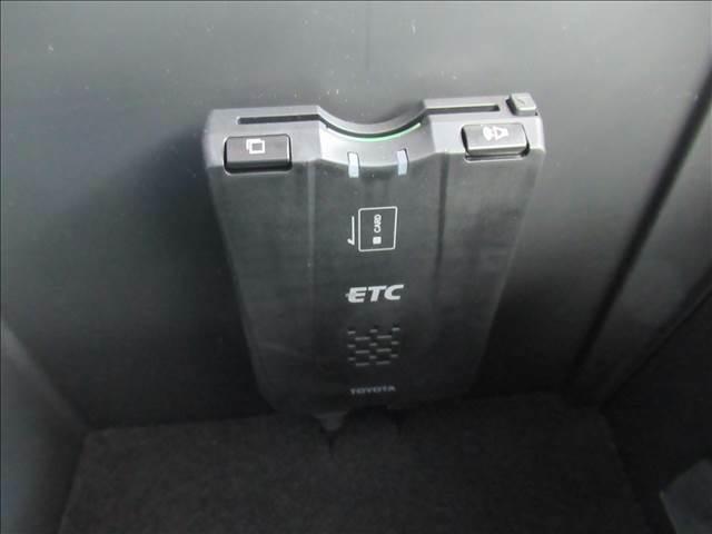 ETCが付いているので高速道路の乗り降りがとても便利になります。