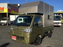 ダイハツ ハイゼットトラック 660 スタンダード 3方開 4WD トラベルハウス ナビTV 5MT 外部電源