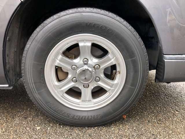 タイヤは4本新品に交換致します!!