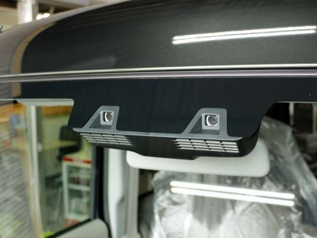 デュアルカメラブレーキサポートが標準装備です!