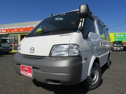 マツダ ボンゴバン 1.8 DX 低床 4WD ナビTV ルーフキャリア オートマ車