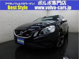 ボルボ V60 T4Rデザインセーフティpkg 2013モデル/黒革/純ナビ/Bカメラ/ETC/保証