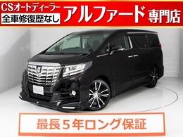 トヨタ アルファード 2.5 S Aパッケージ 新品黒本革/TRDエアロ/デカナビ/新品20AW