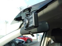 ドライブレコーダー装備!別途記録にSDカードが必要となります。