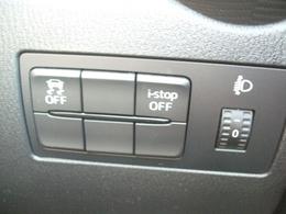 DSC(横滑り防止機能)搭載♪エンジン出力と4輪個別の制動力を電子制御して、車両の横滑りを抑制。滑りやすい路面でのコーナリングや急ハンドル操作時などに、安定した走行姿勢を保つよう制御します。