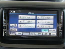 トヨタ純正HDDナビゲーション搭載。Bluetoothなどの機能も付いた充実したナビです。