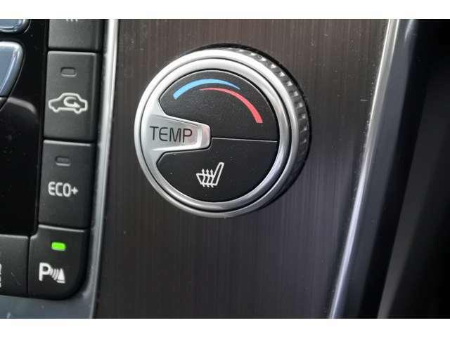 フロントシートにはヒーターを装備しています