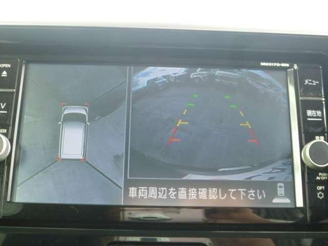 車庫入れも楽々バックカメラ!!