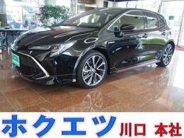 トヨタ カローラスポーツ 1.8 ハイブリッド G Z TRDエアロ・セーフティセンス・SDナビ