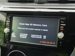 【純正SDナビ】純正SDナビ搭載!BluetoothオーディオやSD再生など多彩な音楽再生、フルセグTVまで見れる高性能ナビです!長距離のお出かけにも最適♪