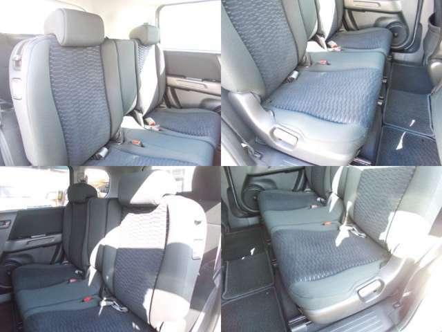 後部座席も使用感少なく、キレイにクリーニング済みです!