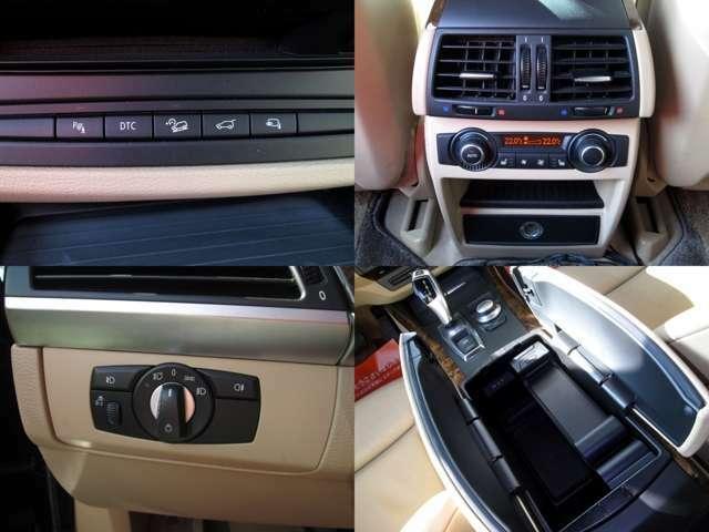 ■オートライトが搭載されておりますので車外が暗くなると自動でライトが点灯します。■後席エアコン『後部座席もオートエアコンになり、シートヒーターも搭載されております。』