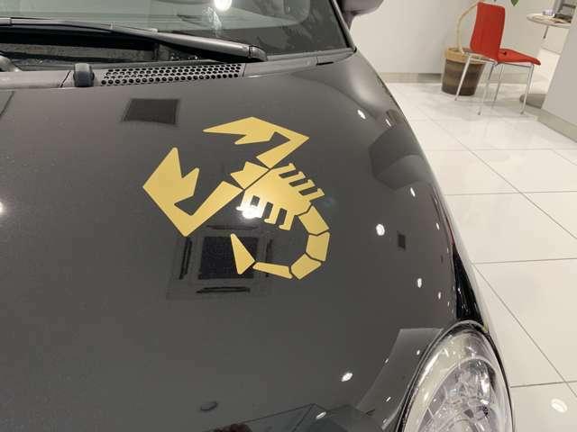 ゴールドスコーピオンボンネットステッカー