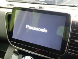 【社外9型ナビ】使いやすいナビで目的地までしっかり案内してくれます。CD/DVDの再生もでき、ミュージックサーバー内蔵です!お車の運転がさらに楽しくなりますね!!