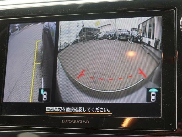 バックカメラ&サイドカメラも装備で安心安全♪死角もなくなりますね☆修復歴該当車全車なし!!全車JAAA(日本自動車鑑定協会)鑑定済みで安心♪