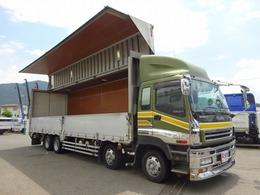 いすゞ ギガ アルミウイング 13t積み スムーサーG 4軸低床 日本フルハーフ 9.6mボディ