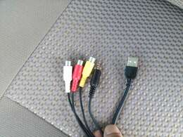 USB端子!ビデオ端子装備!