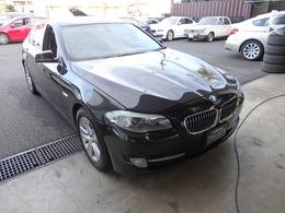 BMW 5シリーズ 528i ハイライン 後期2Lエンジン 黒本革
