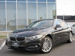 BMW 4シリーズグランクーペ 420i xドライブ ラグジュアリー 4WD 18AWブラウン革ACCドラレコ禁煙1オナ認定車