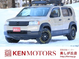 ホンダ クロスロード 2.0 20X 4WD ベージュ全塗装済 新品イエロ-レタータイヤ