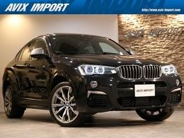 BMW X4 M40i 4WD ガラスSR 黒革 Dアシストプラス 禁煙 1オナ