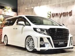 トヨタ アルファード 2.5 S MZスピードコンプ21AW車高調BIGX