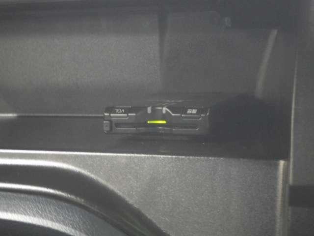 ETCも装備しております!セットアップしてからのご納車ですので、ご納車後すぐにETCレーンを走行していただけますよ♪