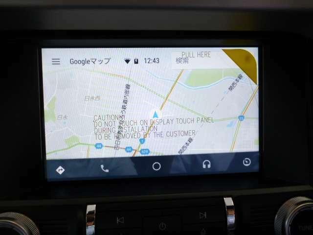 SYNC3を採用。オーディオをはじめより高度にコントロール可能に。 スマートフォン等のデバイスとリンクさせることにより日本語のナビアプリをタッチパネルの画面に表示することが出来ます。