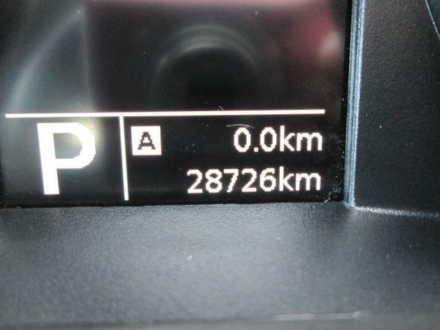 走行距離は28726kmです。