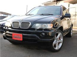 BMW X5 4.6is 4WD 左ハンドル 本革シート ETC ナビ付