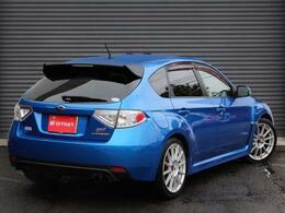 STI20周年を記念しての限定300台車両!人気のWRブルー色!入庫致しました!