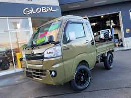 ダイハツ ハイゼットトラック 660 ジャンボ 3方開 4WD GLOBALアゲトラ 構造変更済み