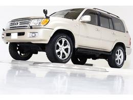 トヨタ ランドクルーザー100 4.7 VXリミテッド 4WD リフトUP NEWタイベル&ウオポン交換済 ETC