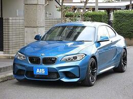 BMW M2クーペ M DCT ドライブロジック ナビ ブラックレザーシート ワンオーナー
