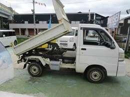 油圧式ダンプトラック