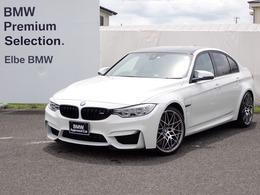 BMW M3セダン M DCT ドライブロジック コンペティションパッケージ装着車 HUD黒革電動20AWFドラレコ