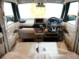 車内は広々空間♪快適スペースです。