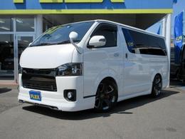 トヨタ ハイエースバン 2.0 スーパーGL ロング MTSフルエアロ買取り直販車