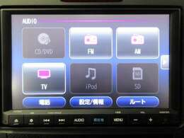 音楽ソースはCD/DVD/SD/TV/Bluetooth