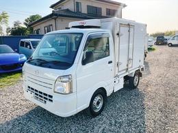 マツダ スクラムトラック 冷蔵冷凍車 低温 AT 2コンプレッサー仕様