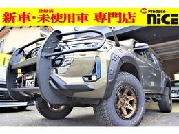 トヨタ ハイラックス 2.4 Z ディーゼルターボ 4WD 新品FUEL17アルミ・新品リフトアップキット